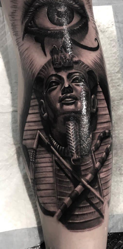 King Tut Tattoo