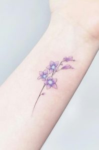 Light Purple Tattoo