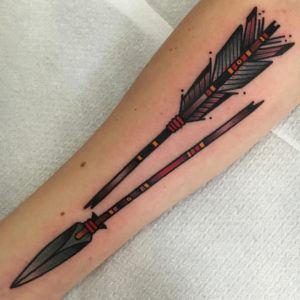 Native American Arrow Tattoo