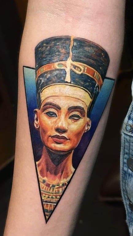 Nefertiti Tattoo