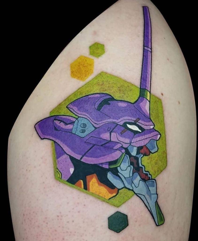 Neon Genesis Evangelion Tattoo