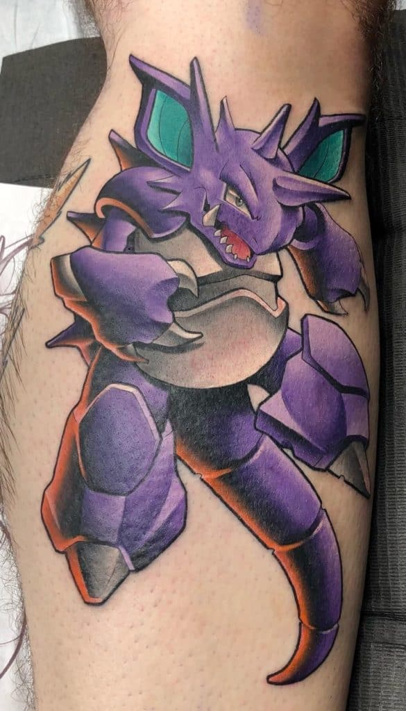 Nidoking Tattoo