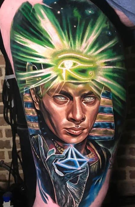 Pharaoh Tattoo