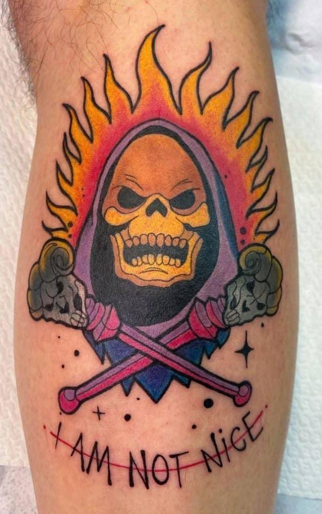 Skeletor Tattoo
