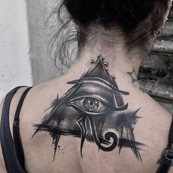 Sketchy Egyptian Tattoo