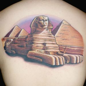 Egyptian Sphinx Tattoo