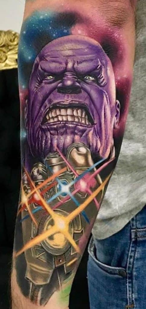 Thanos Tattoos