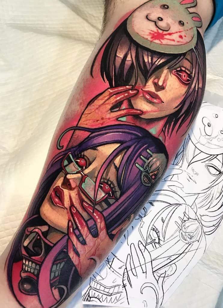Tokyo Ghoul Tattoo