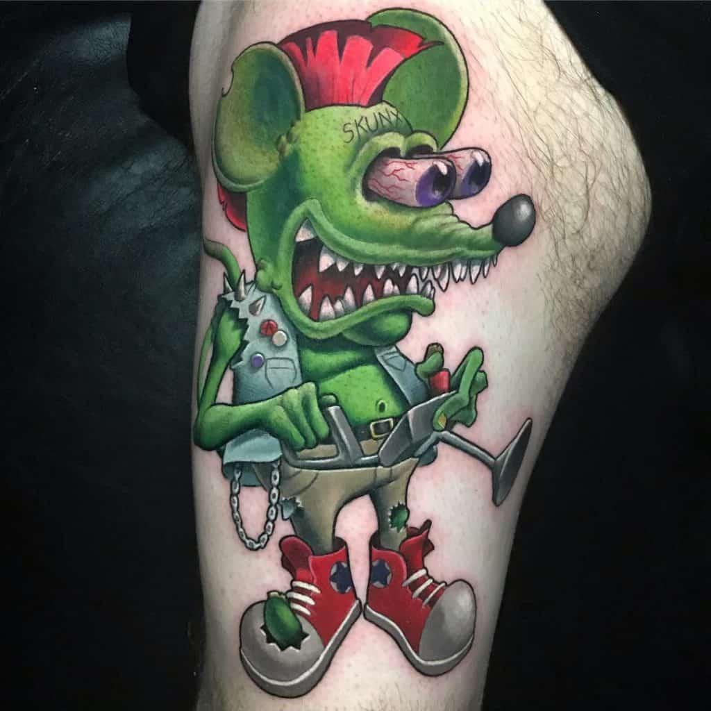 Andy Barrett Tattoo