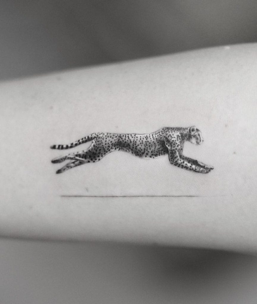 Cheetah Tattoo