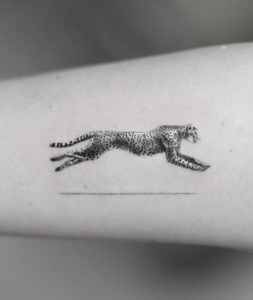 Cheetah Tattoo