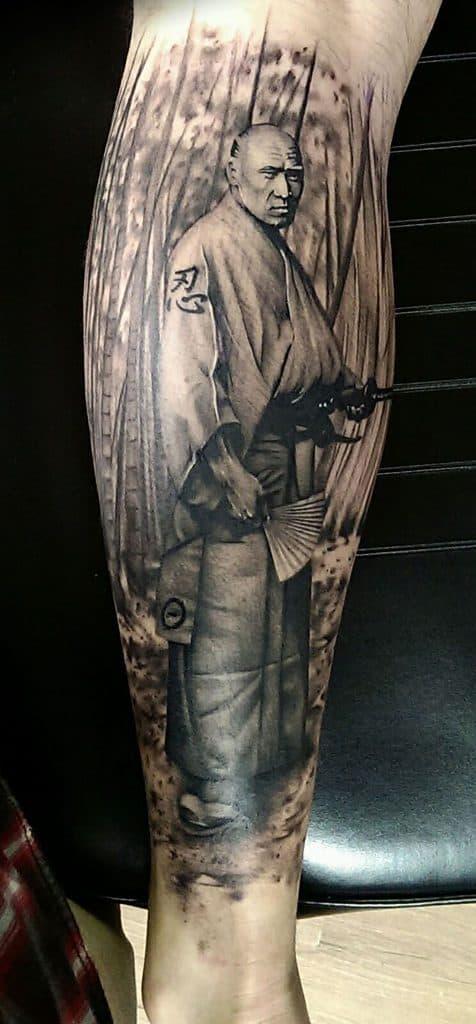 Ken Kile's Tattoo