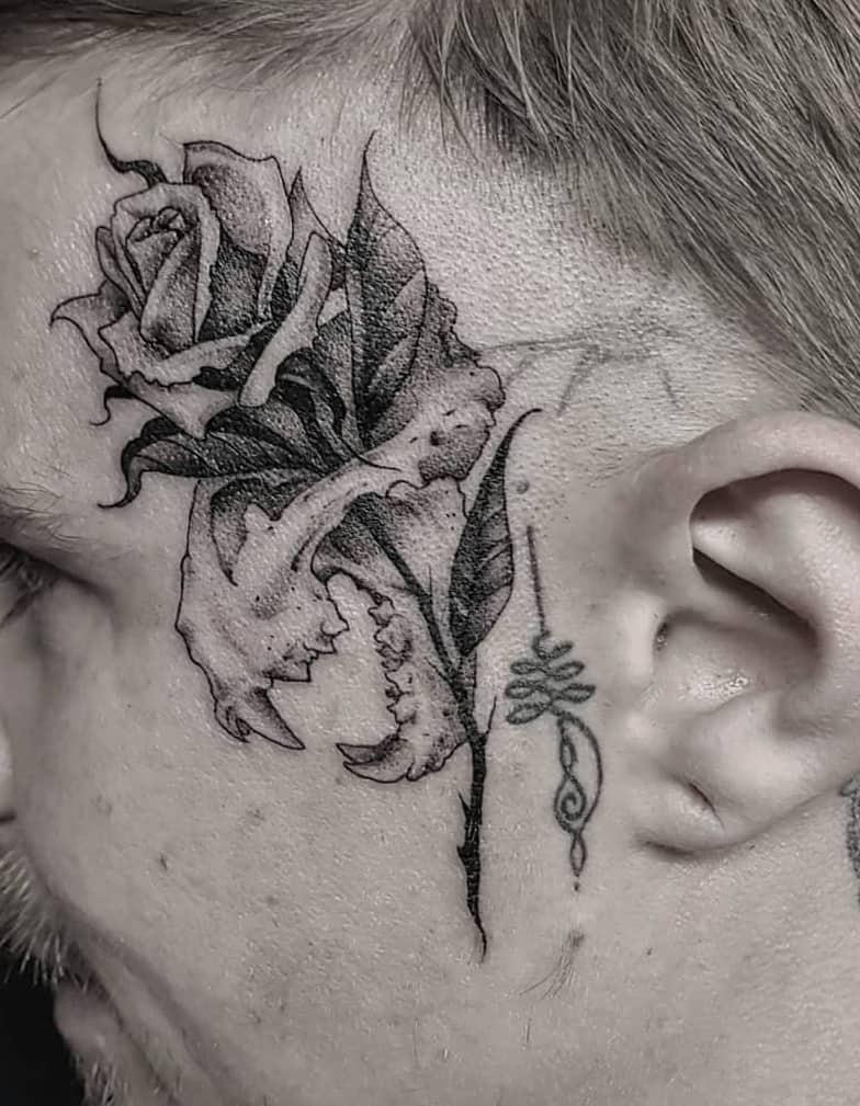 Lion Skull Tattoo