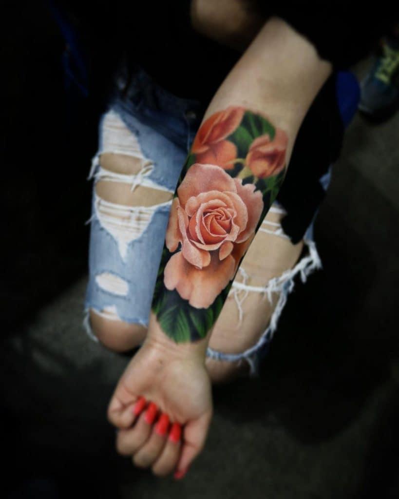 Liz Venom Tattoo