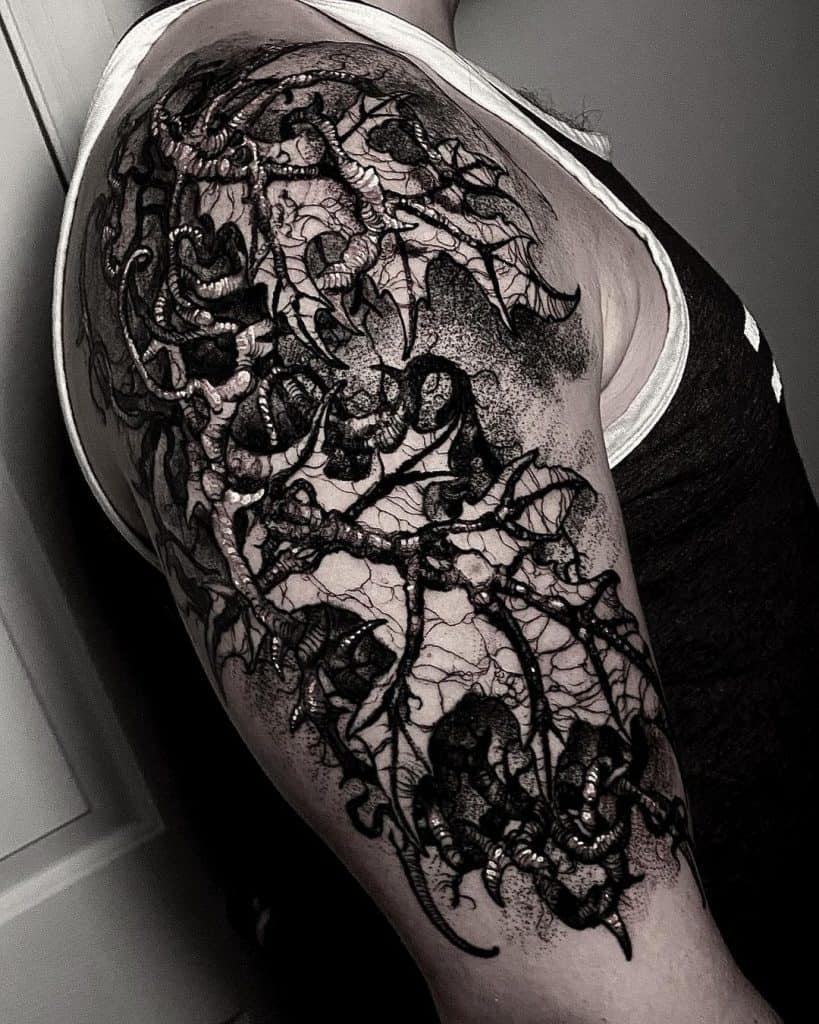 Mark Blanchard Tattoo