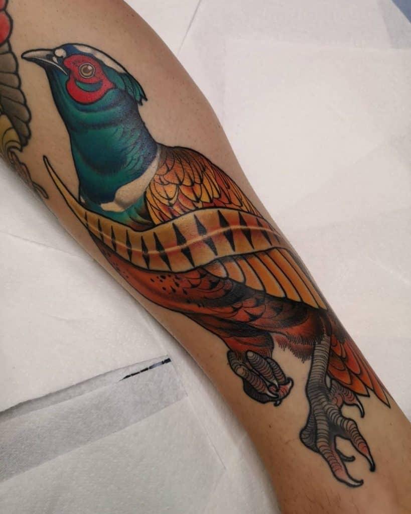 Pheasant Tattoo