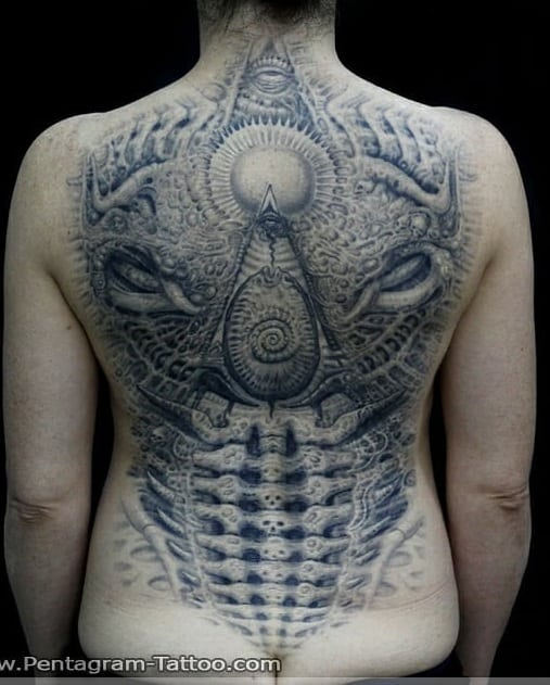 Roey Pentagram's Tattoo
