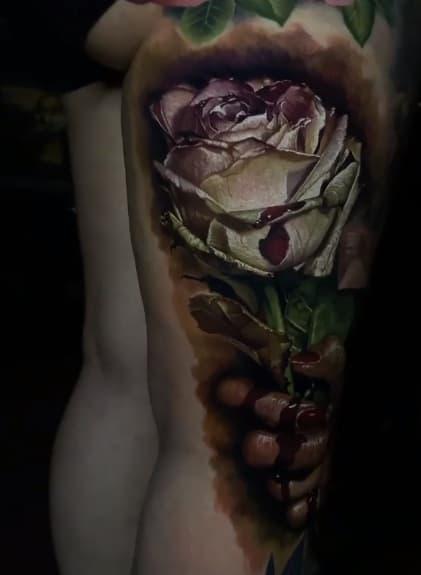 Sam Barber Tattoo