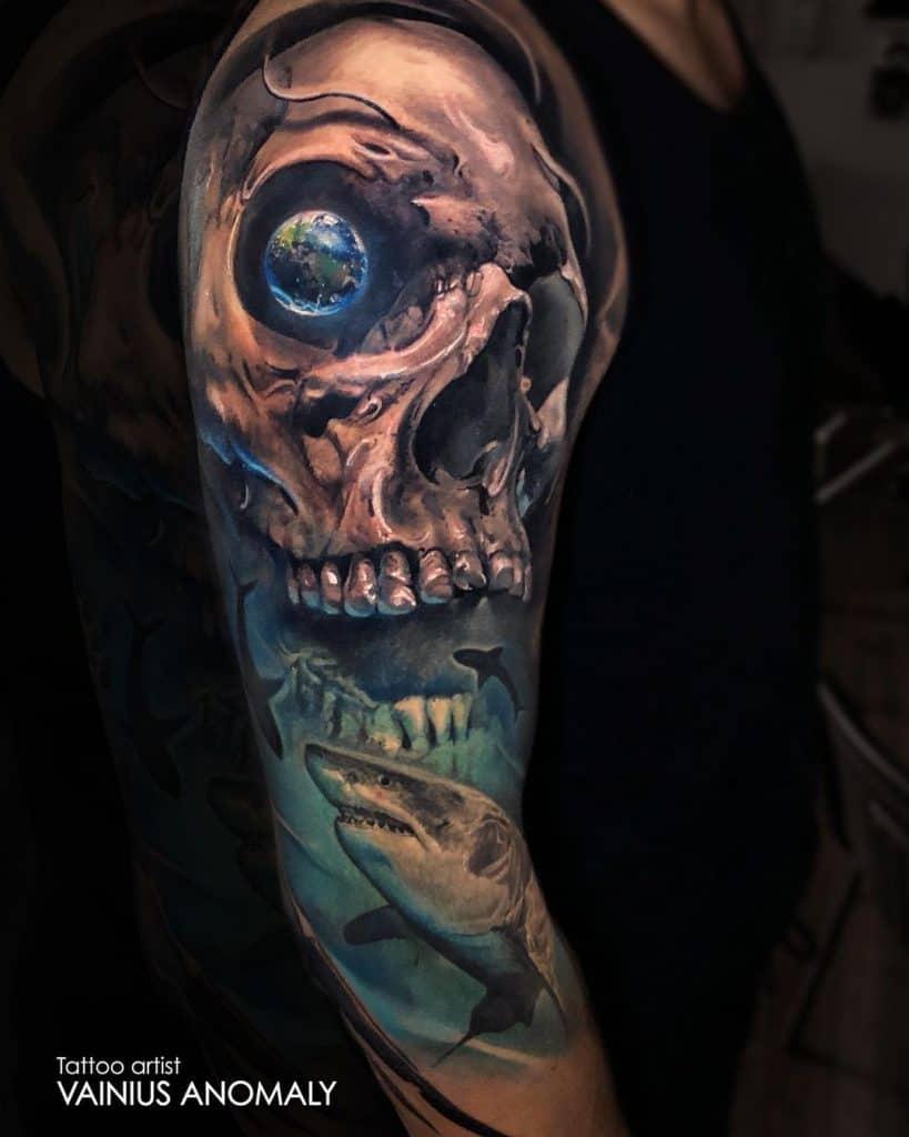 Vainius Anomaly Tattoo