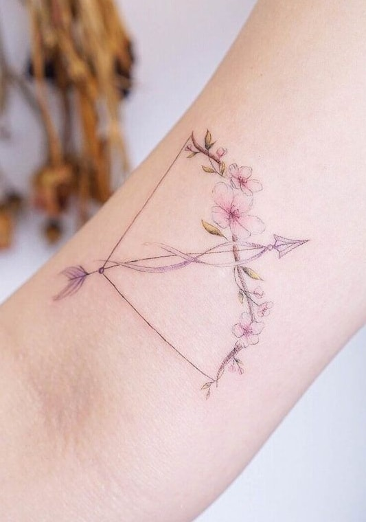Bow and Arrow Tattoo