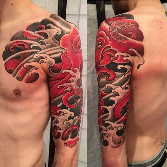 Japanese Octopus Tattoo