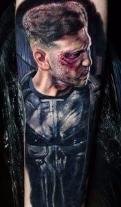 Punisher Frank Castle Tattoo
