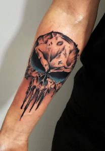 Punisher Skull Tattoo