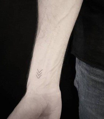 Minimalist Arrow Tattoo
