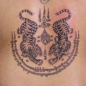 Tiger Yant Tattoo