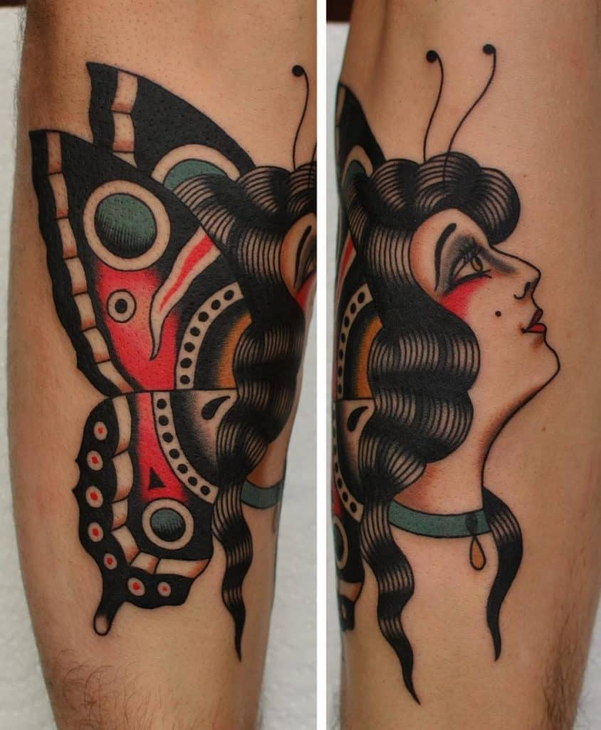 Madame Butterfly Tattoo