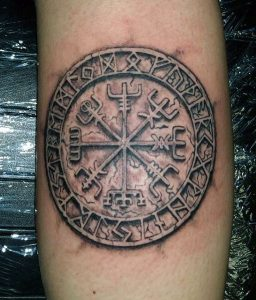 Viking Compass Tattoo