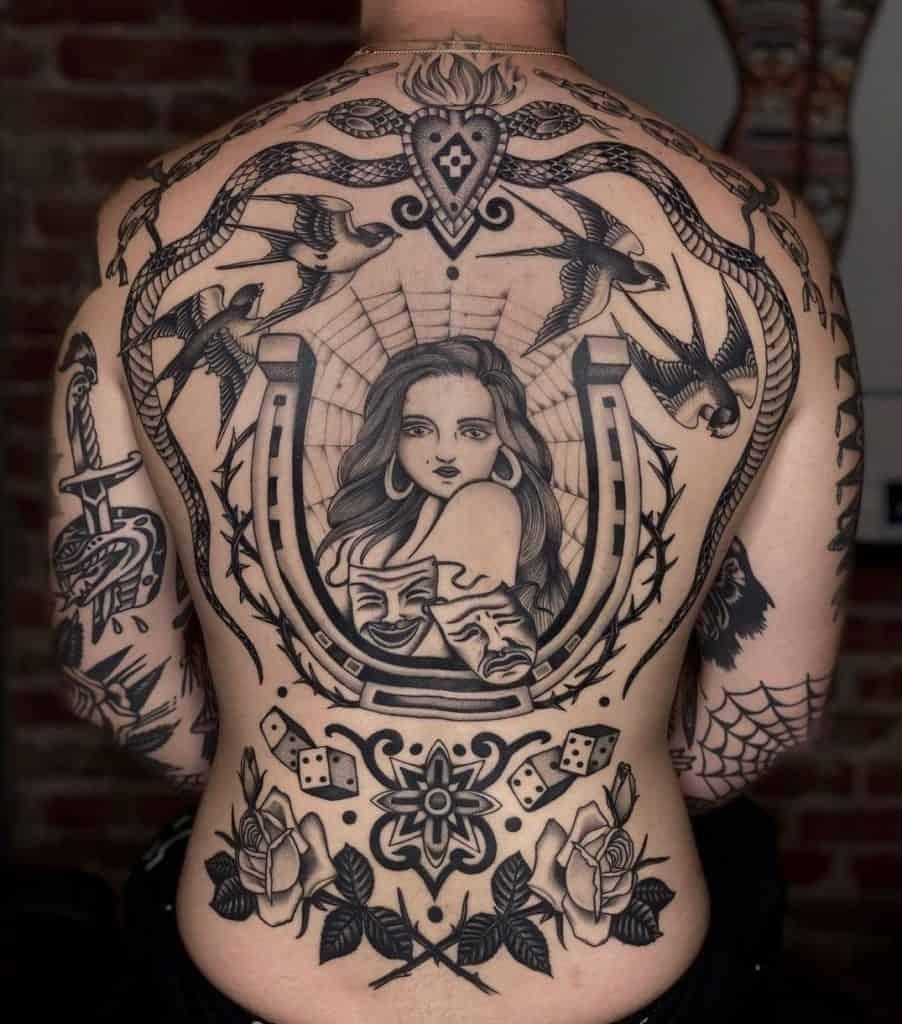 Bobeus' Traditional Tattoo