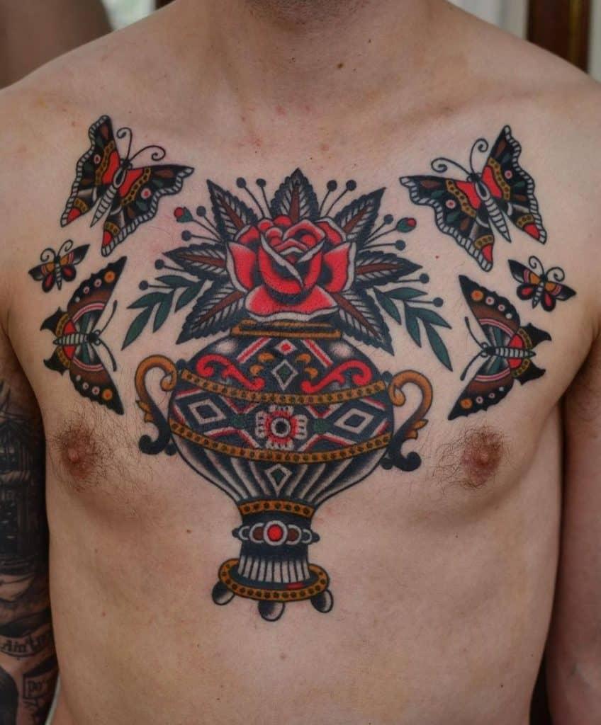 Florian Santus' Traditional Tattoo