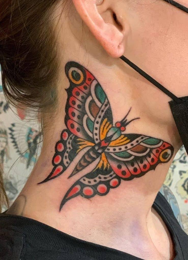 Gordon Combs' Traditional Tattoo