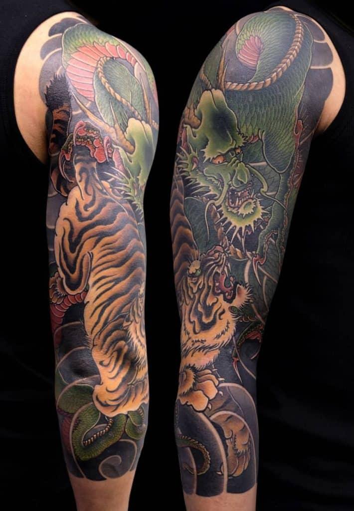 Japanese Tiger Tattoo