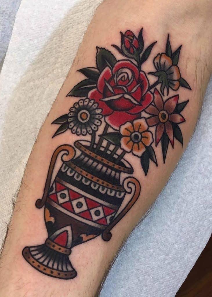 Matt Houston's Traditional Tattoo
