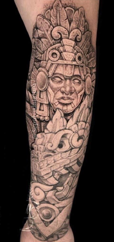 Quetzalcoatl Tattoo