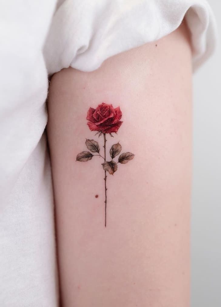 Red Rose Tattoo