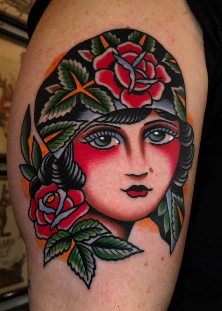 Samuele Briganti's Traditional Tattoo