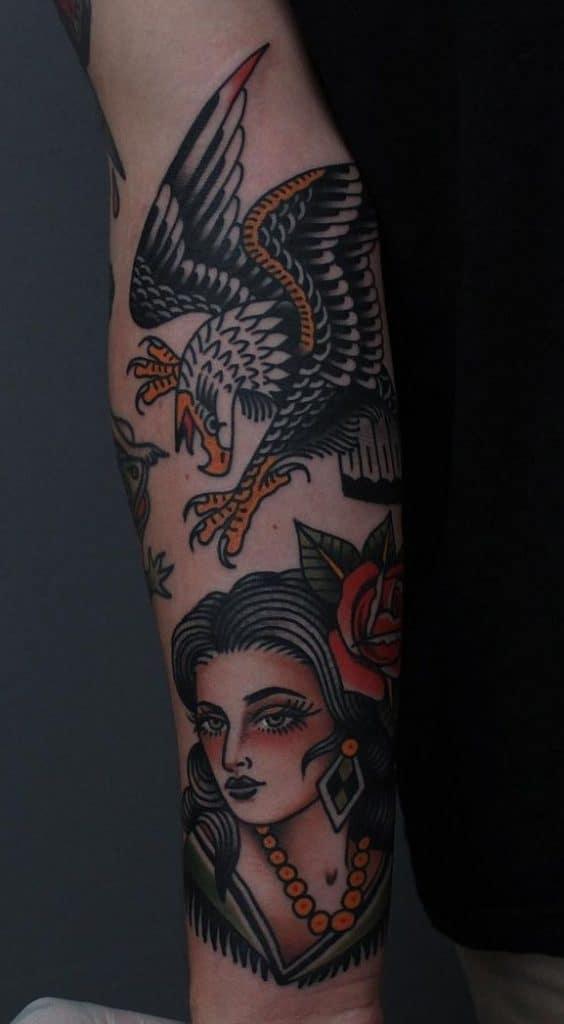 Tony Bluearms' Traditional Tattoo