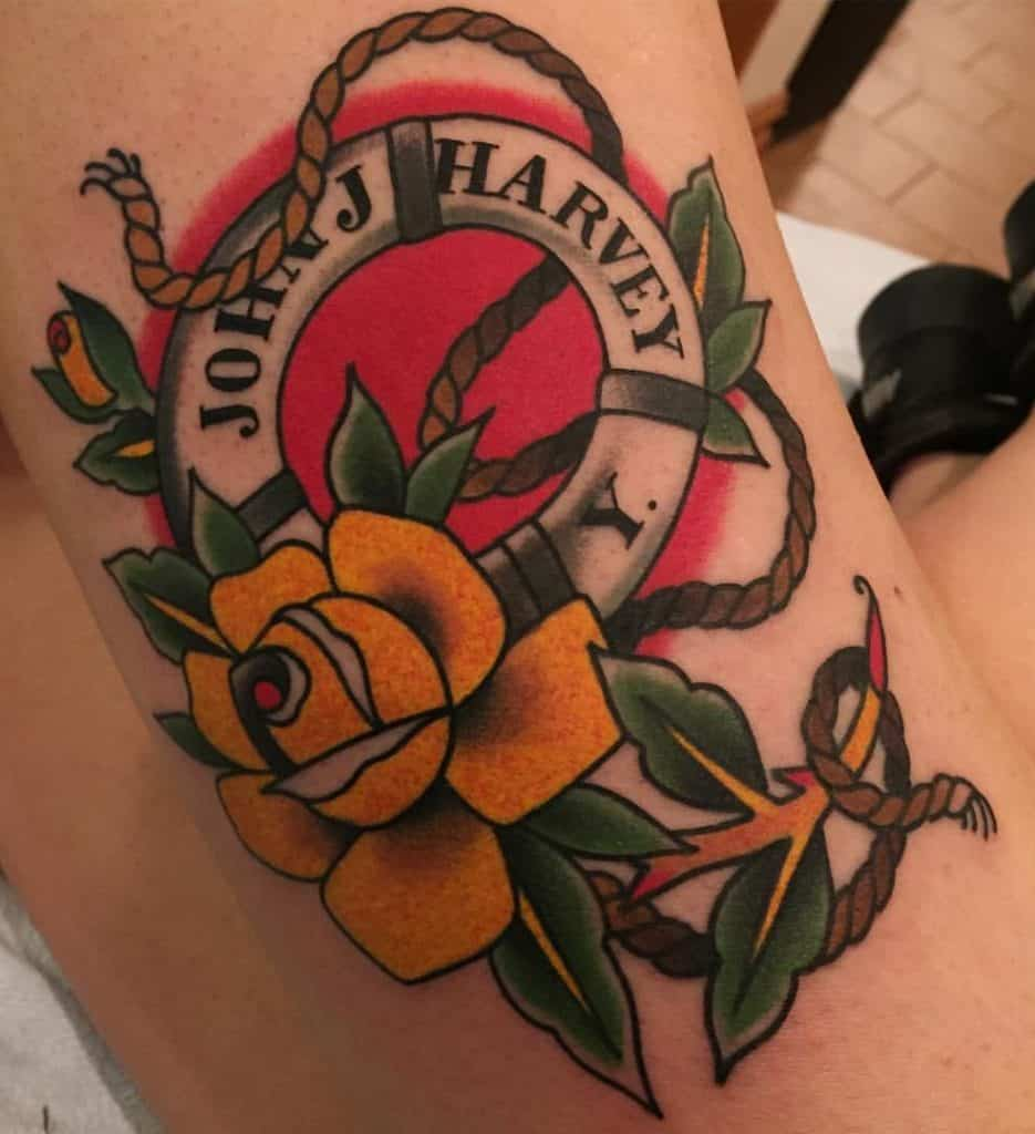 Traditional Tattoo Lettering