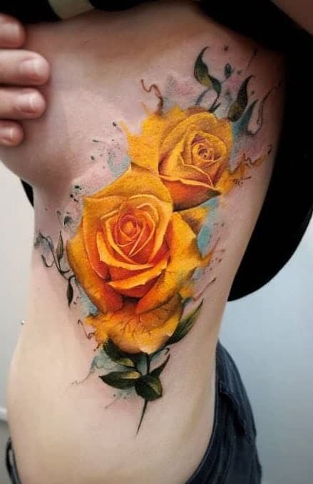Two Roses Tattoo