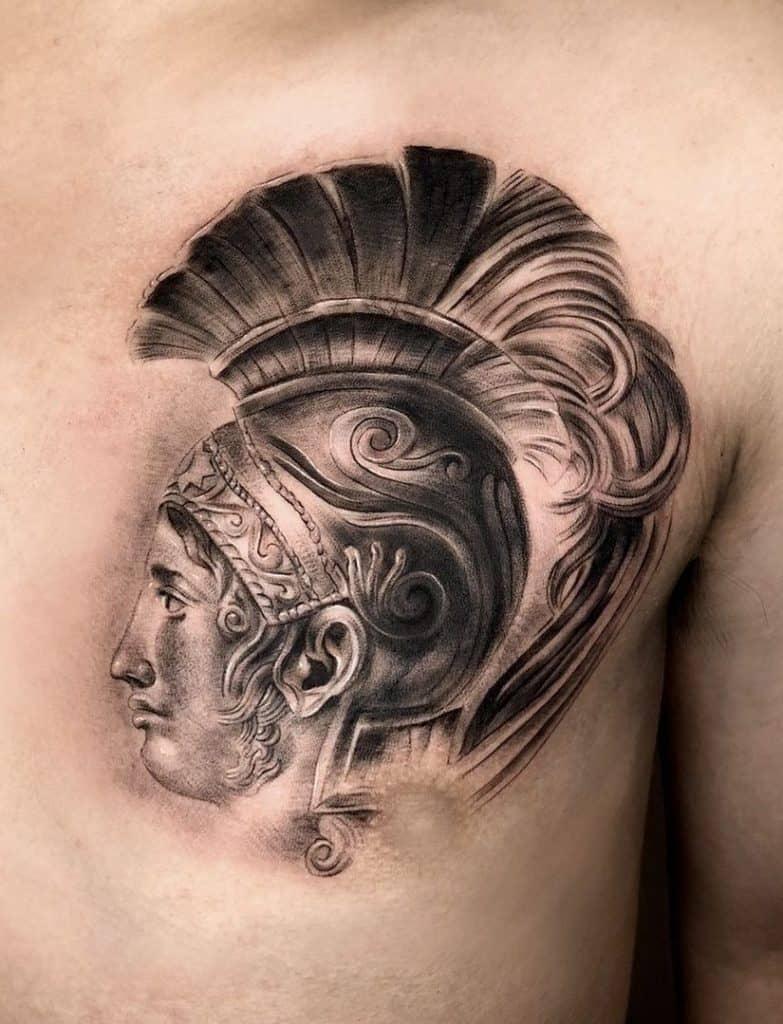 Achilles Tattoo
