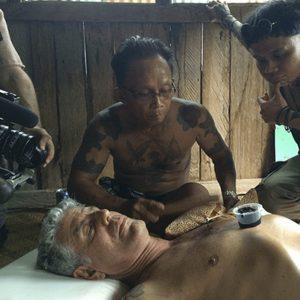Anthony Bourdain Getting a Borneo Tattoo
