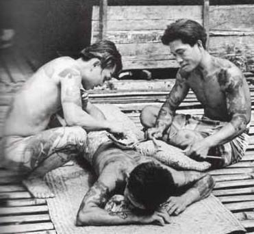 Dayak Tattoo Ritual