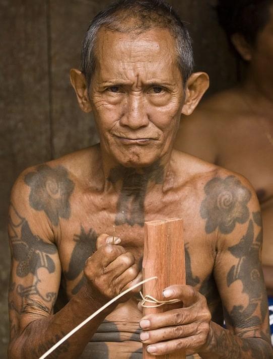Dayak tattoos