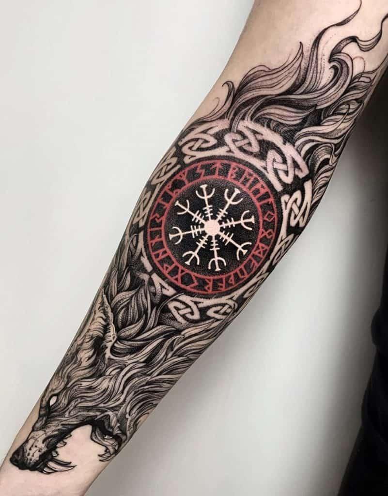 Fenrir Tattoo