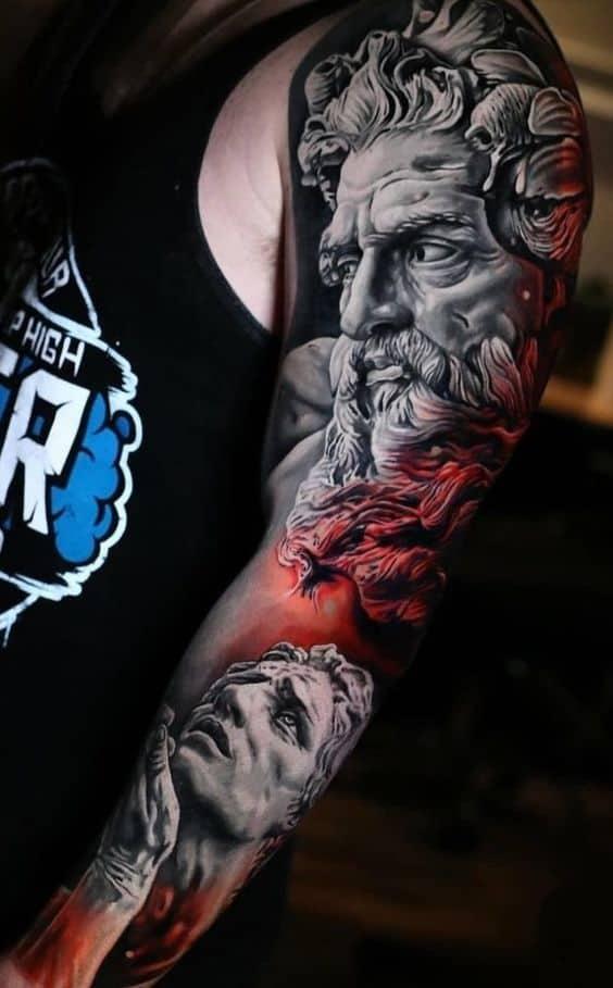 Greek Statue Tattoo