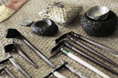 Maori Tattoo Tools