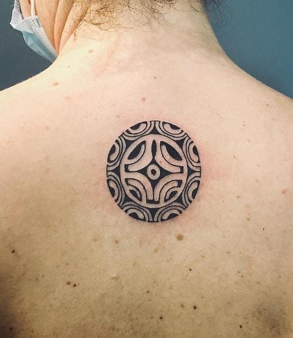 Marquesan Cross Tattoo